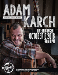 Adam Karch to perform in Grand Bahama for one night only