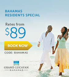 Grand Lucayan Bahamas Residents Special.