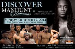 Manhunt Bahamas 2014 to be Hosted in Nassau