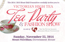 Heart Ball Committee to host Victorian High Tea Party & Fashion Show