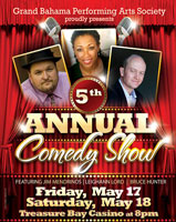 5th Annual Comedy - Grand Bahama