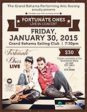 Canadian pop-folk group 'Fortunate Ones' to perform in Freeport, January 30th, 2015