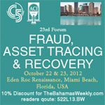 Fraud, Asset Tracing & Recovery Forum set for October in Miami Beach