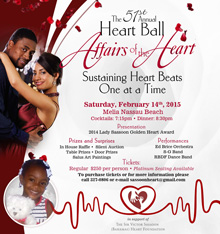 57th annual Heart Ball set for February 14th: Heart Month Events Announced