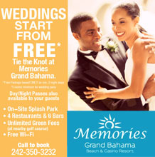 Memories Grand Bahama FREE* Weddings!
