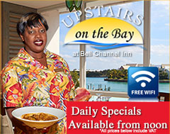Upstairs on the Bay at Bell Channel Daily Specials