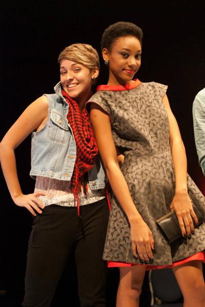 Rebecca_strikes_a_pose_with_her_model_Abenah_Gonzalez.jpg
