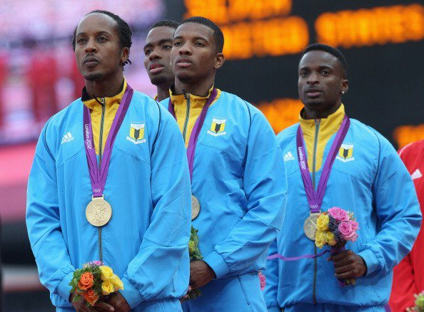 Bahamian men's 4x400-meter rely team - Bahamas Men's 4 x 400m Relay Team