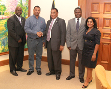 Sm-OEF-CEO-Shaun-Ingraham-and-PR-Agent-Azaleta-meet-with-Prime-Minister-Christie-and-Team-Sept-13-2012-photo-by-Chris-Russell.jpg