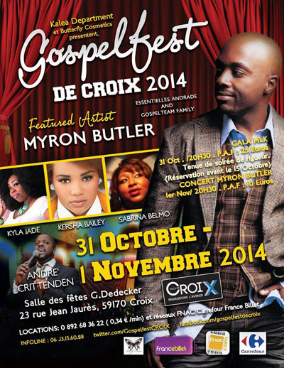thebahamasweekly com - Gospelfest 2014 in Croix, France