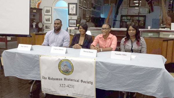 Pic-2--Four-Bahamian-researchers-present-findings-to-Bahamas-Historical-Society.jpg