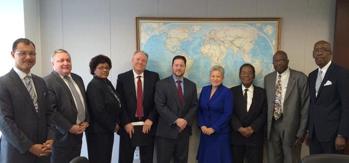 thebahamasweekly com - Minister Hanna Martin meets USA