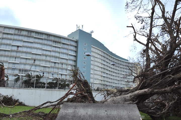 Hotel Property Closed Three Major Hotels On Grand Bahama Have Been Forced To Close Due The Devastation Caused By Hurricane Matthew Shown Is Our Lucaya