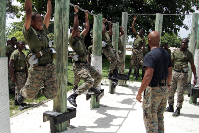 thebahamasweekly com - Defence Force Marines complete Basic Infantry