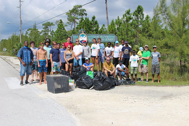 Lucaya-International-School-and-EARTHCARE-volunteers------after-cleaning-up-Gold-Rock-Beach-on-ICC-Day.jpg