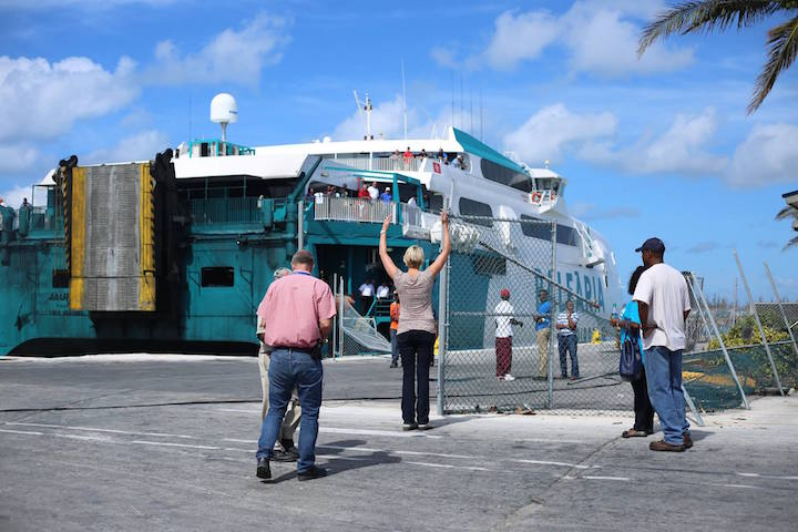 Thebahamasweeklycom Tampa Electric Arrives In Grand Bahama For - Tampa to bahamas
