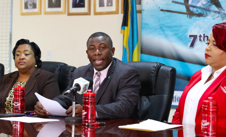 Image result for Bahamas Minister of Agriculture Renward Wells