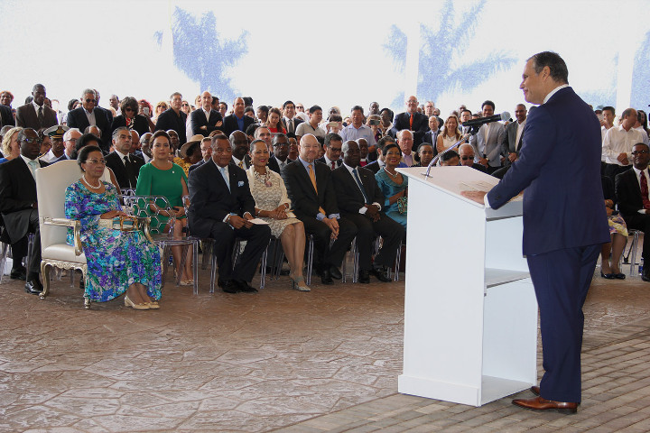 President_of_Baha_Mar_Graeme_Davis_Addresses_the_Ceremonies.jpg