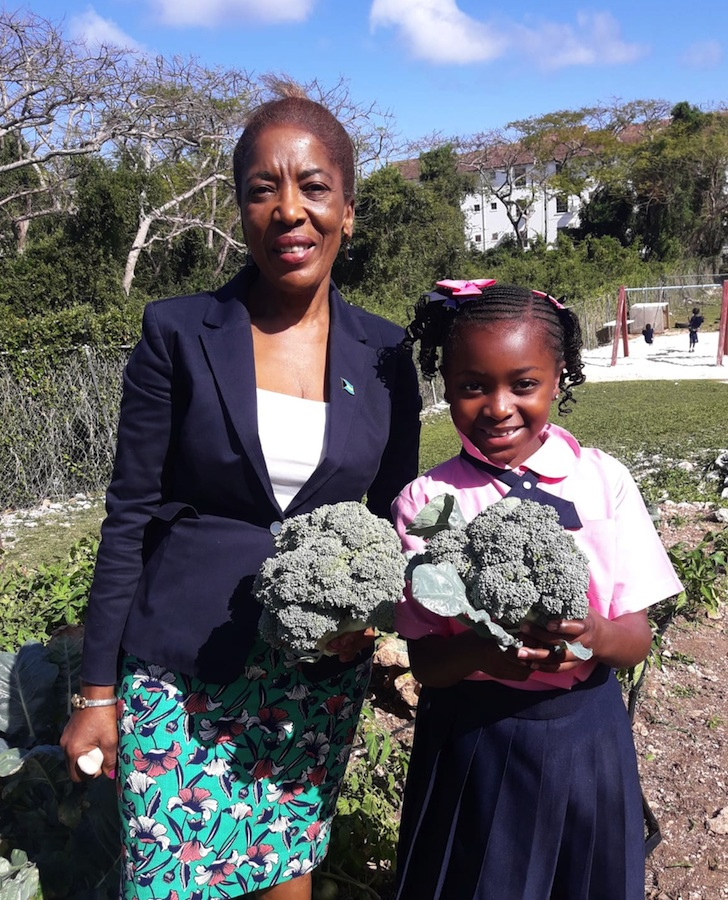 Broccoli_grown_at_Gambier_Primary_-_Mrs._Minnis_and_student.jpg