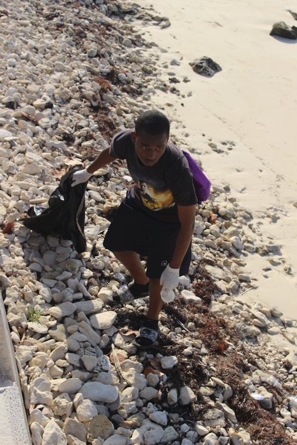 Jonathan_Smith__EARTHCARE_Eco_Kid__Team_Leader_in_action_cleaning_Williams_Town_Beach_in_honour_of___World__Oceans_Day_2019.jpg