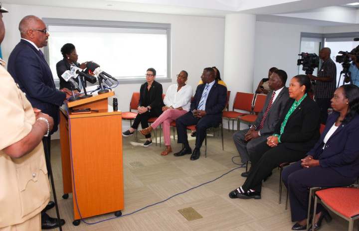 Prime_Minister_Minnis__Minister_Renward_Wells_and_OPM_Officials_at_Press_Conference_LPIA_March_23_2019.jpg