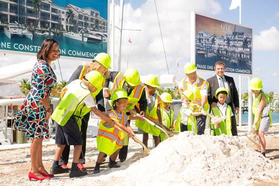 thebahamasweekly com - Palm Cay's $100M One Marina Breaks Ground