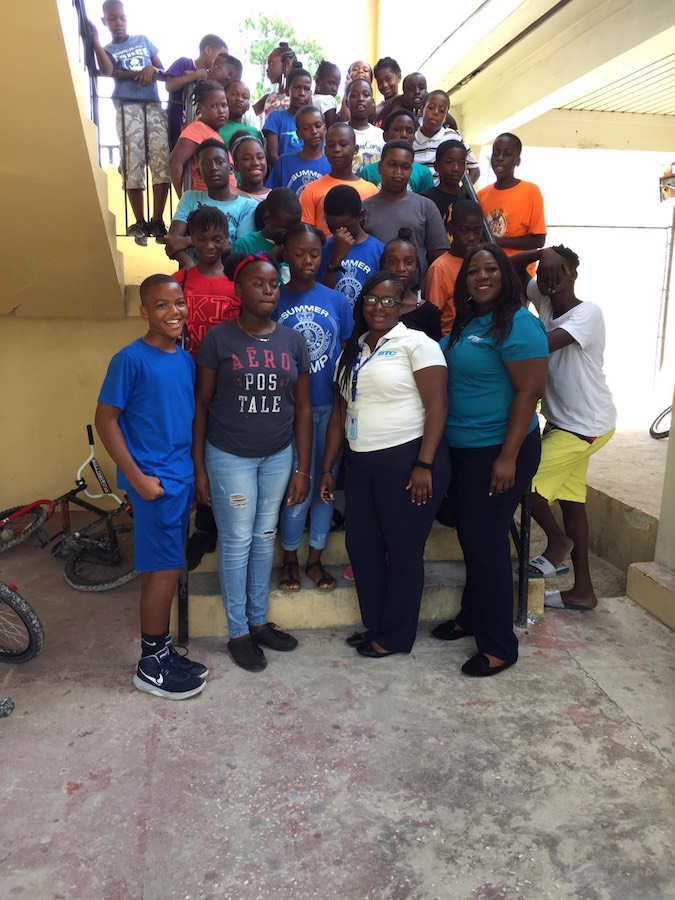 BTC_iVolunteers_Rashea_Burrows_and_Daneshia_McInstosh_with_Abaco_Campers.jpeg