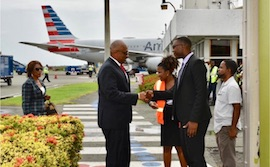 PM_and_Mrs._Minnis_arrive_for_CARICOM_St._Lucia_1.jpg