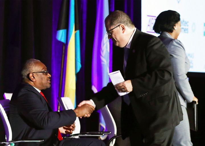 UNDP_Regional_Director_Dr._Luis_Felipe_Lopez-Calva__r__greets_PM_Minnis_-_Hurricane_Dorian_Pledging_Conference_Baha_Mar_Jan_13__2020________401657.jpg