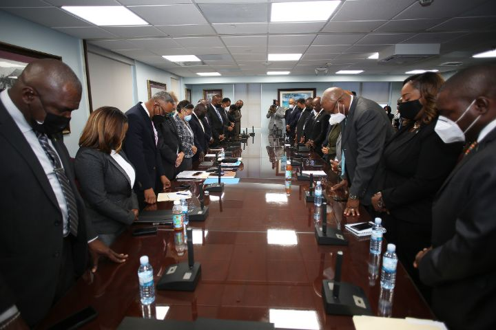 In_Prayer_at_First_Cabinet_Meeting.jpg