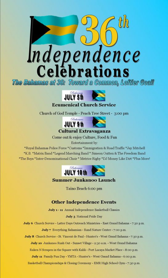 thebahamasweekly com - Independence Day events for Grand Bahama