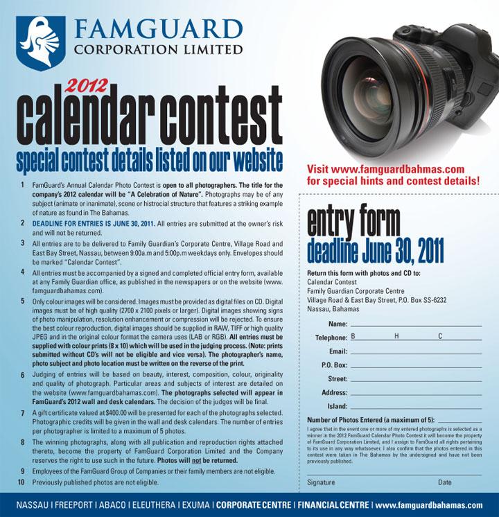 2012 annual calendar. 1 FamGuard#39;s Annual Calendar