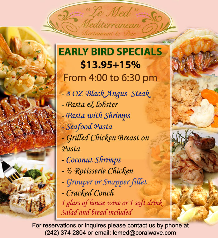 Thebahamasweekly Le Med Freeport Gbi Early Bird Specials