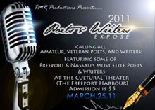 The 2011 Poets Writers Expose, March 25th | Bahamas Local News