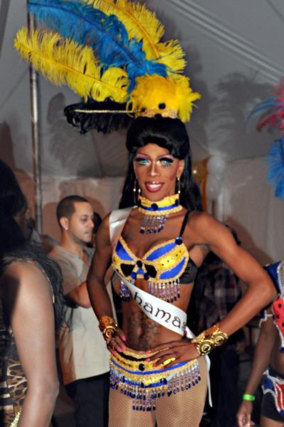 thebahamasweekly.com - Miss Gay Caribbean Bahamas, Alicia Dupree wins Best ...