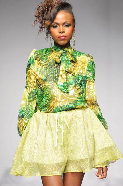 Fashion Week 2010 Trinidad on Kendra Beneby On The Runway At Islands Of The World Fashion Week